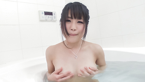 Kana Matsu - Asian amateur solo in the bath with Kana Matsu - Picture 7