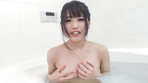 Kana Matsu - Asian amateur solo in the bath with Kana Matsu - Picture 8