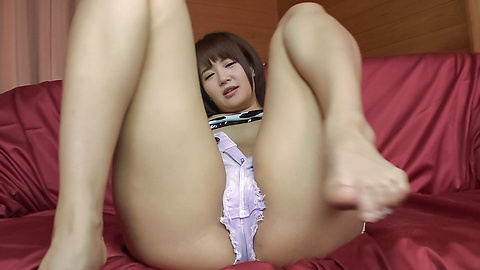Saya Tachibana - Young Asian sex in solo scenes with Saya Tachibana - Picture 12