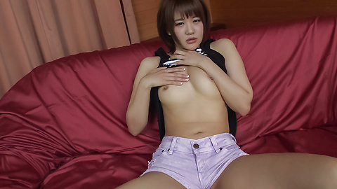 Saya Tachibana - Young Asian sex in solo scenes with Saya Tachibana - Picture 4