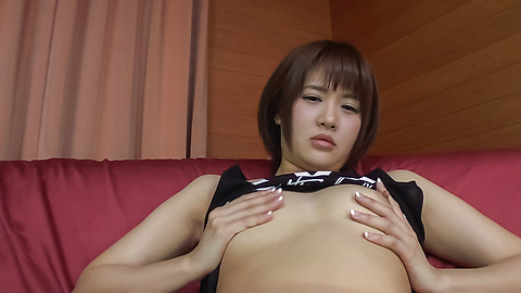 Saya Tachibana - Young Asian sex in solo scenes with Saya Tachibana - Picture 8