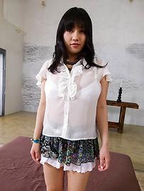 Azusa Nagasawa - Oriental brunette Azusa Nagasawa banged hard - Picture 1
