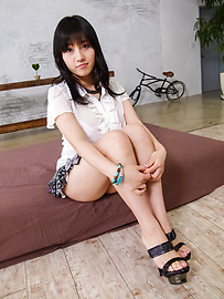 Azusa Nagasawa - Oriental brunette Azusa Nagasawa banged hard - Picture 3