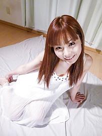 Anri Sonozaki - Anri Sonozakigives warm Asian blowjob during hardcore - Picture 1