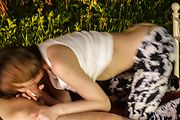 Japanese outdoor sex with superb Ruka Ichinose  Photo 6