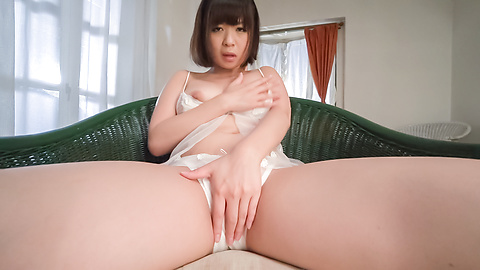 Wakaba Onoue - Wakaba Onoue amazing solo finger fucking play  - Picture 6