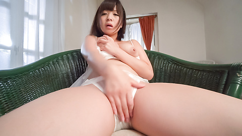 Wakaba Onoue - Wakaba Onoue amazing solo finger fucking play  - Picture 9