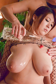 Rina Araki - Stunning  Asian blow job by hot ass Rina Araki - Picture 3