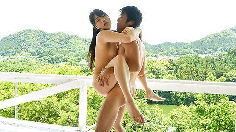 Misaki Oosawa hot Japanese threesome fuck