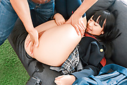 Sexy Asian schoogirl gets older man to fuck her hard  Photo 9