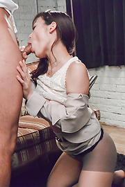 Shiona Suzumori - Shiona Suzumori enjoys Asian blowjob in proper modes  - Picture 7