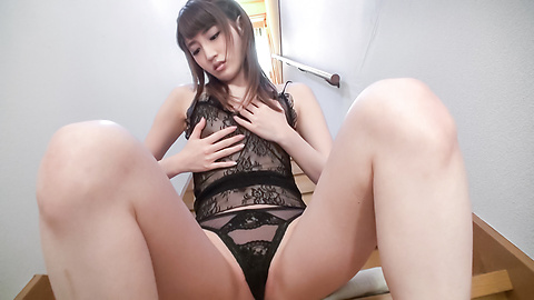 Karin Aizawa - Top Japanese amateur sex with toys on cam  - Picture 8