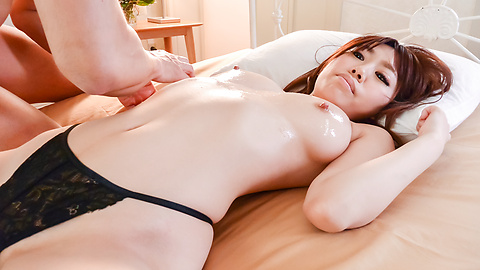 Chisa Hoshino - Asian creampie video with dashing Chisa Hoshino - Picture 8