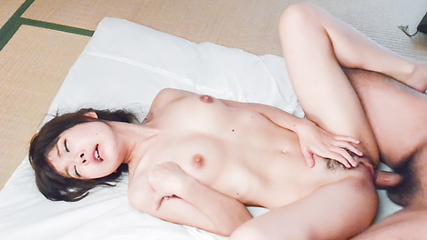 House wife Miu Suzuha fucked at home by younger man