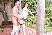 Superb Asian outdoor sex with sexy Yua Ariga Photo 8