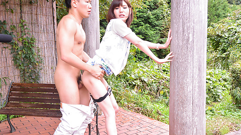 Yua Ariga - Tight schoolgirl enjoys cock in pussy for hours  - Picture 8