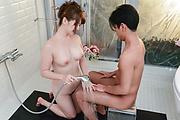 Yui Nishikawa big tits hardcore sex in the bathroom  Photo 8