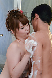 Yui Nishikawa - Yui Nishikawa passionate porn in the bathroom  - Picture 12