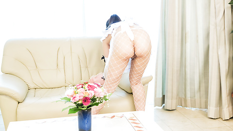 Ema Kato - Asian maid with fine ass, full POV romance on cock  - Picture 3