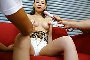 Mariru Amamiya - A hot asian cum facial for teen Mariru Amamiya - Picture 1