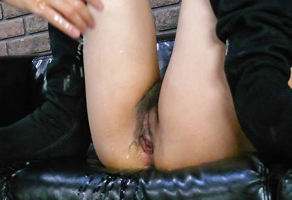 Satsuki Aoyama asian squirt from fingering after sucking dick