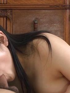 Azusa Nagasawa - Lovely hot asian amateur Azusa Nagasawa sucks in POV - Screenshot 10
