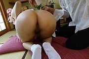 Rei Mizuna - 由水菜丽顽皮的精湛亚洲口交 - 图片 8
