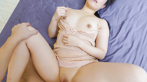Sakura Ooba - Curvy Sakura Ooba rides cock after a japanese blowjob - Picture 5