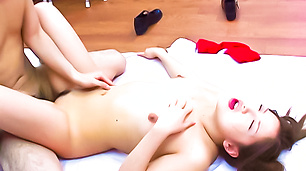 Cute and pretty Katsumi Matsumura getting banged
