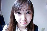 Busty Schoolgirl Haruka Ohsawa Creampied in POV Photo 3