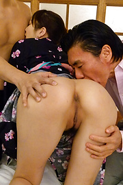 Kotone Amamiya - Kotone Amamiya Asian milf blowjob sensation  - Picture 2