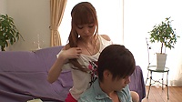 3D CATWALK POISON 25 Cream Pie with Shaking Real Gcup Tits : Mikuru Shiina - Video Scene 3, Picture 7
