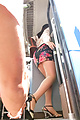 Chinatsu Kurusu Gang Fucked In  Pantyhose Photo 10