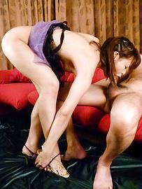 Maika - Maika strokes and sucks boners with skill - Picture 11