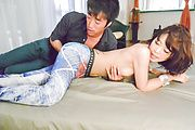 Girl with hairy Asian pussy fucked for hours Photo 11