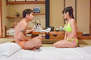 Big tits Asian wife, Yu Shinohara, hardcore sex on cam  Photo 3