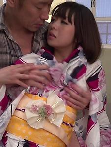 Wakaba Onoue - Wakaba Onoue amazes with her warm Japanese blow job - Screenshot 5