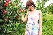Fantasy Asian outdoor sex with petite Saya Tachibana Photo 2