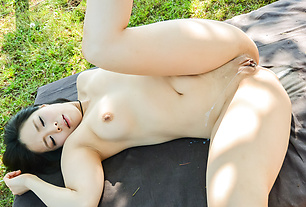 Sexy Japanese street sex with naked Mimi Aku
