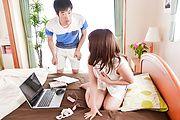さくら結衣 - DVDを餌に爆乳若妻生ハメ~桜ゆい - Picture 10