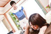 さくら結衣 - DVDを餌に爆乳若妻生ハメ~桜ゆい - Picture 9
