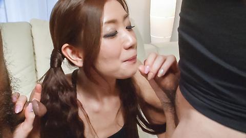 Kaori Maeda - Asian blow job with sweet Japanese Kaori Maeda - Picture 7