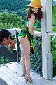 Slim babe with nice ass, superb Japanese outdoor sex Photo 2