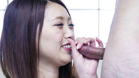 Miki Aimoto - Special Asian blow job by needy Miki Aimoto - Picture 10