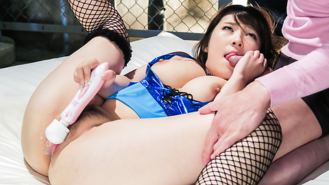 Hot Japanese creampie vagina for Mahoro Yoshino
