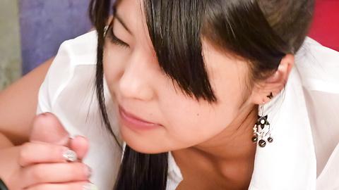 Eririka Katagiri - eririka คาตาให้ blowjob เอเชียที่น่าตื่นตาตื่นใจใน POV -  12 รูปภาพ