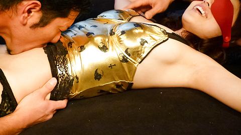 Ann Yabuki - Horny Ann Yabuki asian gives blowjob and gets a creampie - Picture 11