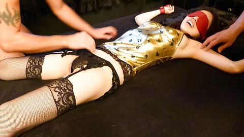 Ann Yabuki - Horny Ann Yabuki asian gives blowjob and gets a creampie - Picture 8