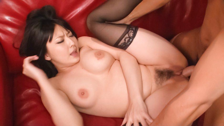 Hot asian milf Megumi Haruka in wild hardcore action
