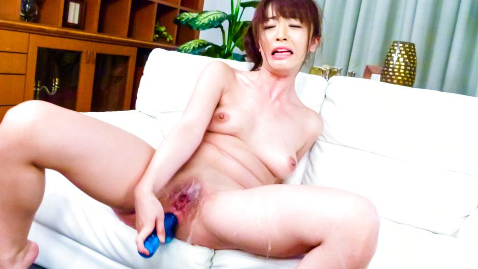 Teen Marika Masturbates In And Out Of Her Kimono